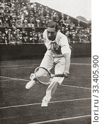 EDITORIAL Prince Albert at Wimbledon, 1926. Prince Albert Frederick Arthur George, future George VI, 1895-1952. King of the United Kingdom and the Dominions... Редакционное фото, фотограф Classic Vision / age Fotostock / Фотобанк Лори