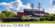 Купить «Vasa Museum in Stockholm, Sweden», фото № 33409308, снято 29 августа 2018 г. (c) Коваленкова Ольга / Фотобанк Лори