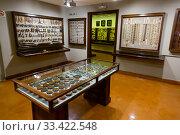 Купить «Interiors of museum Museu Frederico Mares, Spain», фото № 33422548, снято 23 февраля 2020 г. (c) Яков Филимонов / Фотобанк Лори