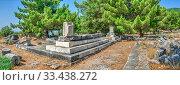 Купить «Ancient city Priene in Turkey», фото № 33438272, снято 20 июля 2019 г. (c) Sergii Zarev / Фотобанк Лори