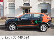 Московский каршеринг. Редакционное фото, фотограф Victoria Demidova / Фотобанк Лори