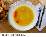 Купить «Traditional Catalan Escudella soup», фото № 33452132, снято 3 апреля 2020 г. (c) Яков Филимонов / Фотобанк Лори