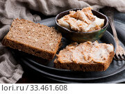 Купить «East European speciality - pork fat fried with onion», фото № 33461608, снято 2 апреля 2020 г. (c) easy Fotostock / Фотобанк Лори