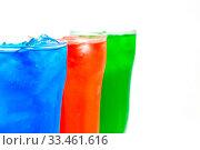 Купить «Soda drinks isolated against a white background», фото № 33461616, снято 2 апреля 2020 г. (c) easy Fotostock / Фотобанк Лори