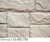 Купить «Mmasonry of stoun wall, background», фото № 33469756, снято 30 июля 2016 г. (c) Ольга Сергеева / Фотобанк Лори