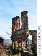 Купить «Soimos fortress stronghold inside detail medieval architecture», фото № 33474548, снято 2 апреля 2020 г. (c) easy Fotostock / Фотобанк Лори