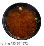 Купить «Japanese miso soup», фото № 33501672, снято 8 апреля 2020 г. (c) Яков Филимонов / Фотобанк Лори