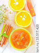 Купить «Orange jam», фото № 33517420, снято 9 апреля 2020 г. (c) age Fotostock / Фотобанк Лори