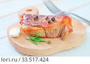 Купить «Baked meat», фото № 33517424, снято 9 апреля 2020 г. (c) age Fotostock / Фотобанк Лори