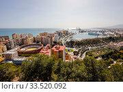 Купить «Malaga, City overview, Andalusia, Spain, Europe», фото № 33520092, снято 29 февраля 2020 г. (c) Caro Photoagency / Фотобанк Лори