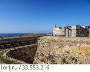 Купить «San Pedro de la Roca Castle, UNESCO World Heritage Site, Santiago de Cuba, Santiago de Cuba Province, Cuba.», фото № 33553216, снято 17 апреля 2019 г. (c) age Fotostock / Фотобанк Лори