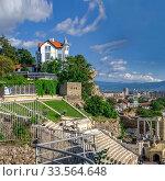 Купить «Roman amphitheater in Plovdiv, Bulgaria», фото № 33564648, снято 24 июля 2019 г. (c) Sergii Zarev / Фотобанк Лори