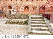 Купить «Mir Castle Complex. Republic of Belarus», фото № 33564672, снято 9 марта 2020 г. (c) Parmenov Pavel / Фотобанк Лори