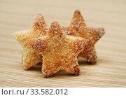 Домашняя выпечка. Творожное печенье в форме звёздочек. Стоковое фото, фотограф Dmitry29 / Фотобанк Лори
