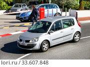 Renault Scenic (2019 год). Редакционное фото, фотограф Art Konovalov / Фотобанк Лори