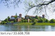 Купить «Royal Cathedral St. Stanislaus Wawel Castle on Vistula River Krakow Poland King Casimir EU Europe UNESCO.», фото № 33608708, снято 8 мая 2019 г. (c) age Fotostock / Фотобанк Лори
