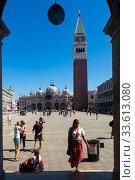 San Marco square in Venice (2019 год). Редакционное фото, фотограф Яков Филимонов / Фотобанк Лори