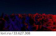 Купить «Cosmic abstract landscape. 3d render illustration», фото № 33627308, снято 27 мая 2020 г. (c) easy Fotostock / Фотобанк Лори