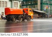 Купить «Комбинированная дорожная машина КО-829Д КО-829Д на базе автомобиля КамАЗ-53605», эксклюзивное фото № 33627996, снято 2 мая 2015 г. (c) Dmitry29 / Фотобанк Лори