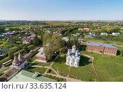 Ризоположенский женский монастырь в Суздале (2018 год). Стоковое фото, фотограф Михаил Куликов / Фотобанк Лори