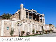 Купить «View of the Mosque of Hazret-Hyzr, Samarkand, Uzbekistan», фото № 33661980, снято 16 октября 2019 г. (c) Наталья Волкова / Фотобанк Лори