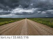 Купить «Prairie Storm Clouds Canada Saskatchewan Summer Warnings», фото № 33663116, снято 2 июня 2020 г. (c) age Fotostock / Фотобанк Лори