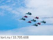 Фигура высшего пилотажа (2019 год). Редакционное фото, фотограф Андрей Мигелев / Фотобанк Лори