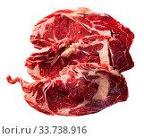 Купить «Raw beef fillet with rosemary», фото № 33738916, снято 30 мая 2020 г. (c) Яков Филимонов / Фотобанк Лори