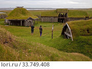 Купить «Wikingerdorf, Filmkulisse am Berg Vestrahorn, Bucht Hornvik, Suedostisland, Island, Europa», фото № 33749408, снято 2 июня 2020 г. (c) age Fotostock / Фотобанк Лори