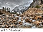 Купить «Mount edith cavell Jasper Alberta Canada», фото № 33760716, снято 11 июля 2020 г. (c) age Fotostock / Фотобанк Лори