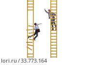 Купить «Career competition in business environment», фото № 33773164, снято 29 мая 2020 г. (c) Elnur / Фотобанк Лори