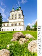 Купить «Nicolo-Vyazhishchsky monastery in Veliky Novgorod», фото № 33774112, снято 23 августа 2019 г. (c) FotograFF / Фотобанк Лори