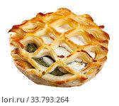 Купить «Image of fresh pastries from goat cheese and spinach», фото № 33793264, снято 27 мая 2020 г. (c) Яков Филимонов / Фотобанк Лори