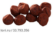Chocolate truffles. Стоковое фото, фотограф Яков Филимонов / Фотобанк Лори