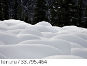 Купить «Mountain Snow Moguls Winter Alberta Canada cold», фото № 33795464, снято 10 июля 2020 г. (c) age Fotostock / Фотобанк Лори