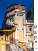 Купить «Old historic house in Odessa, Ukraine», фото № 33804624, снято 3 мая 2020 г. (c) Sergii Zarev / Фотобанк Лори