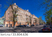 Купить «Old historic house in Odessa, Ukraine», фото № 33804636, снято 3 мая 2020 г. (c) Sergii Zarev / Фотобанк Лори