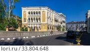 Купить «Old historic house in Odessa, Ukraine», фото № 33804648, снято 3 мая 2020 г. (c) Sergii Zarev / Фотобанк Лори