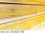 Купить «Rough wooden boards with cracks as background», фото № 33829156, снято 25 августа 2019 г. (c) FotograFF / Фотобанк Лори