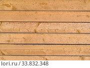 Купить «Old plank wood yellow wall», фото № 33832348, снято 6 мая 2020 г. (c) Максим Мицун / Фотобанк Лори