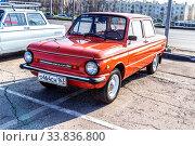 Купить «Soviet retro automobile ZAZ-968M», фото № 33836800, снято 26 октября 2019 г. (c) FotograFF / Фотобанк Лори