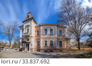 Купить «Cottage Marazli in Odessa, Ukraine», фото № 33837692, снято 17 марта 2020 г. (c) Sergii Zarev / Фотобанк Лори