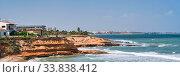 Купить «Pilar de la Horadada coastline. Costa Blanca, Spain», фото № 33838412, снято 8 мая 2020 г. (c) Alexander Tihonovs / Фотобанк Лори