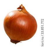 Raw yellow onion. Стоковое фото, фотограф Яков Филимонов / Фотобанк Лори