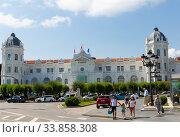 Купить «Santander Casino», фото № 33858308, снято 14 июля 2019 г. (c) Яков Филимонов / Фотобанк Лори