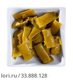 Купить «Pickled chopped bean pods», фото № 33888128, снято 5 июля 2020 г. (c) Яков Филимонов / Фотобанк Лори
