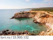 Купить «Beautiful beach in Northern Cyprus», фото № 33900132, снято 2 июня 2020 г. (c) easy Fotostock / Фотобанк Лори