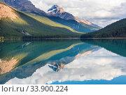Купить «Picturesque mountain view in the Canadian Rockies in summer season», фото № 33900224, снято 2 июня 2020 г. (c) easy Fotostock / Фотобанк Лори
