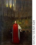 Ramon Casas - Portrait of King Alfonso XIII. Редакционное фото, фотограф Artepics / age Fotostock / Фотобанк Лори