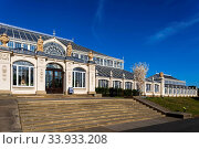 England, London, Richmond, Kew Gardens, The Temperate House. Стоковое фото, фотограф Steve Vidler / age Fotostock / Фотобанк Лори
